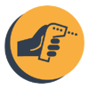 infrared thermometer icon