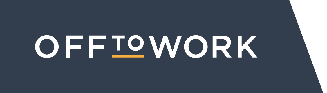 off to work logo